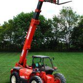 6000# 37′ Reach Material Handler, Manitou 1230 L