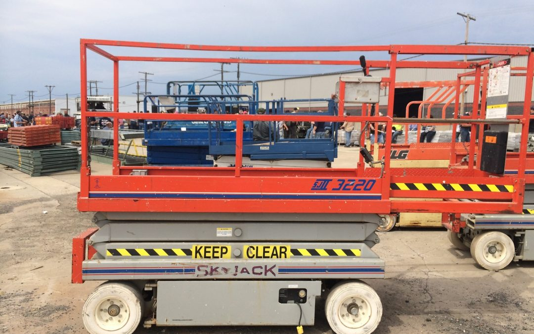 Electric Scissor Lift, 20′