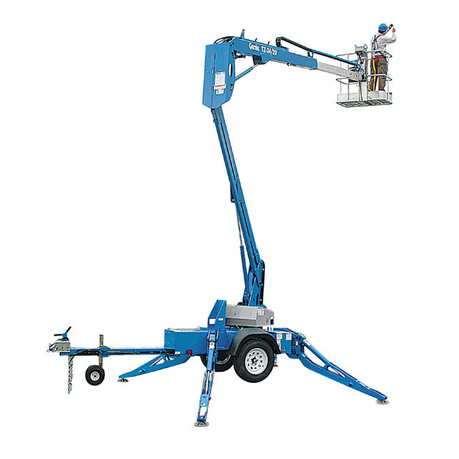 Towable Articulating Lift, 34′