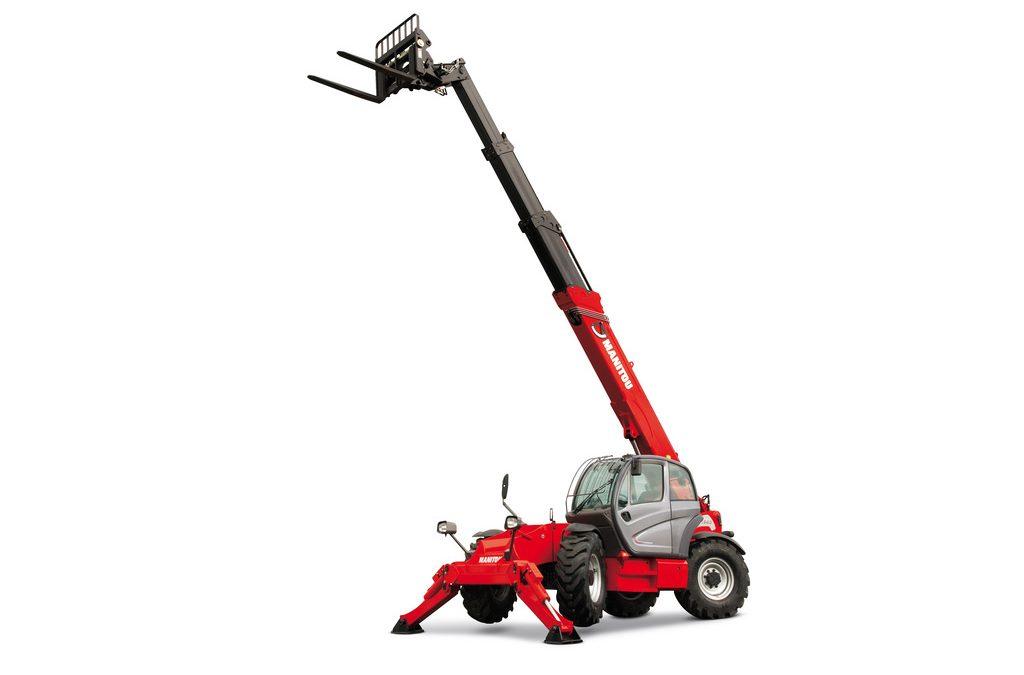 8000# 57′ Reach Material Handler, Manitou MT1840