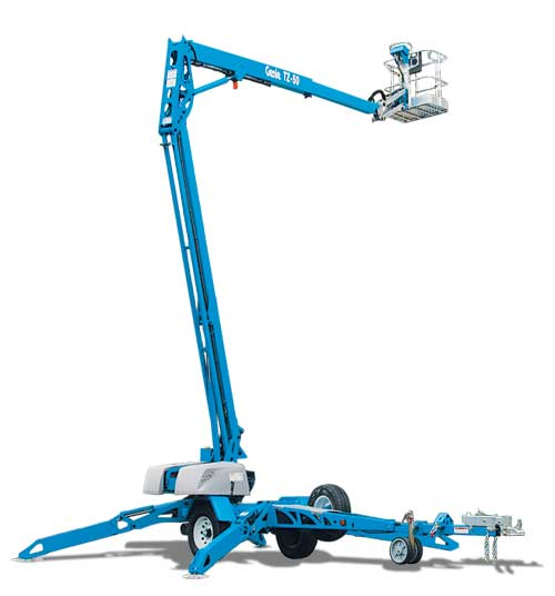 Towable Articulating Lift, 50′