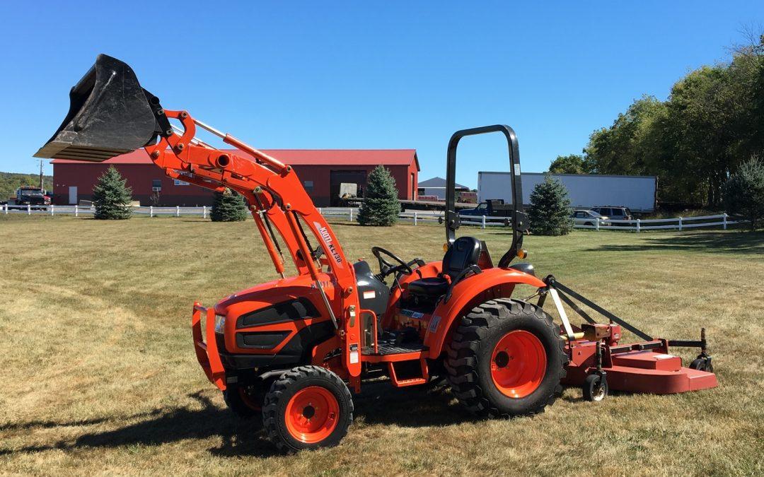 Tractor, 4×4 Diesel 30hp