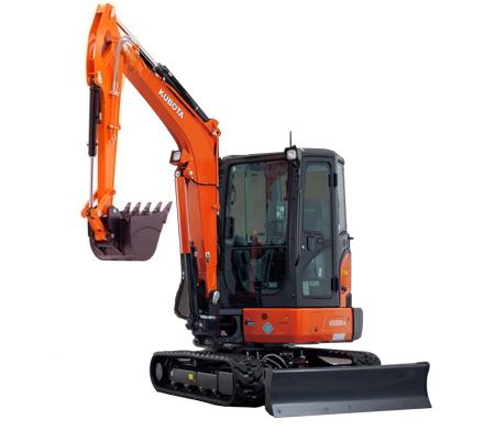 Kubota KX033-4 Mini-Excavator (Cab) | Mifflintown Equipment